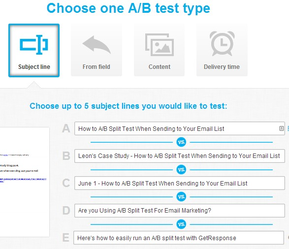 choose-ab-split-test